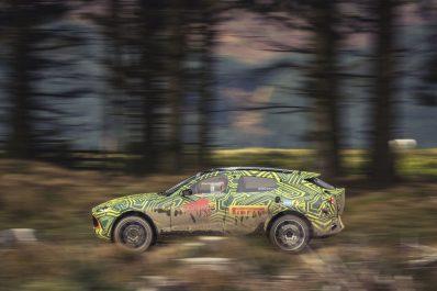 Aston Martin : Le prototype du SUV DBX à l'épreuve des tests routiers
