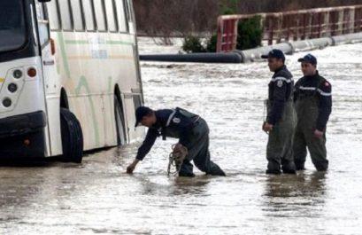 Des dizaines d'interventions à travers le pays pour le pompage des eaux de pluie