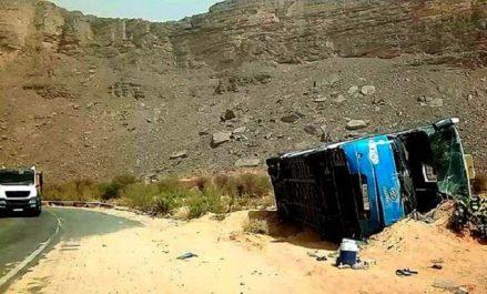 Tamanrasset : 2 morts et 27 blessés suite au renversement du bus