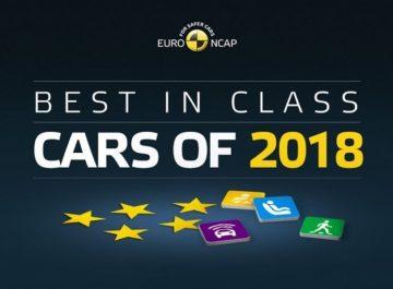 """Les """"Best In Class 2018 """" d'Euro Ncap"""