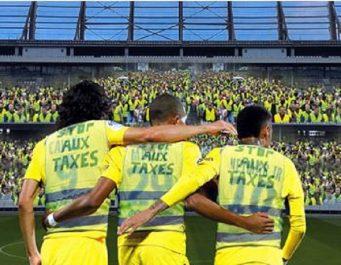 La crise s'invite dans les stades du championnat français: Ligue 1 rattrapée par le mouvement des «Gilets jaunes»