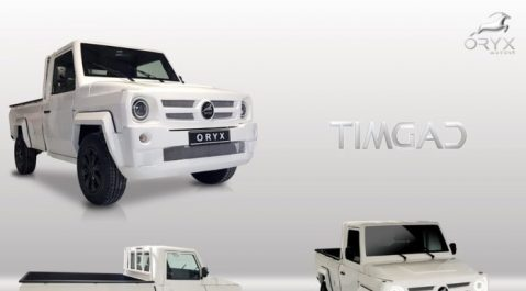 Oryx Motors présente le pick-up Timgad