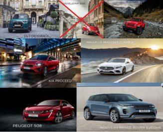 Plus belle voiture de l'année 2018 : Exit la Fiat 500X