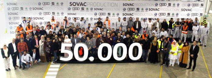 50.000e véhicule sorti de l'usine SOVAC Production SPA