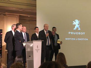 Double récompenses pour Peugeot aux Coyote Automobile Awards
