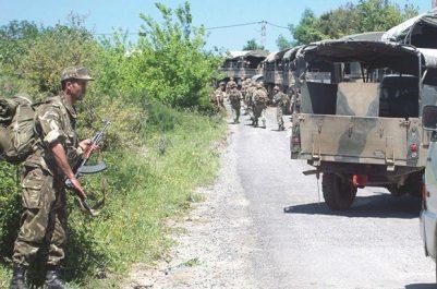 Cinq éléments de soutien aux groupes terroristes arrêtés à Blida, Tissimsilt et Khenchla