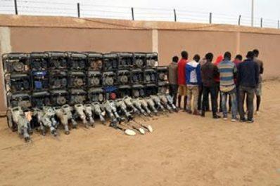 L'ANP y a arrêté des dizaines d'orpailleurs – Grand Sud: l'eldorado des trafiquants d'or