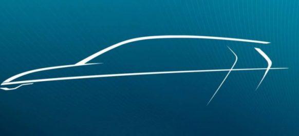 Volkswagen tease un sketch de la future Golf