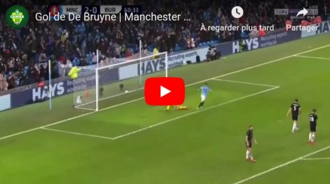 Voici la passe décisive de Mahrez pour De Bruyne (Vidéo)