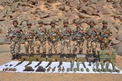 ANP: Saisie de munition de guerre à Jijel