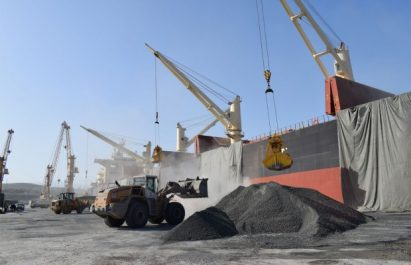 Exportations hors hydrocarbures du port de Annaba: Nouvelle expédition de 30 000 tonnes de clinker