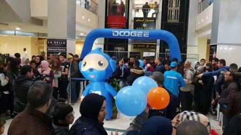 Doogee Mobile et Matos Algérie créent l'événement pour le grand lancement du Smartphone X70