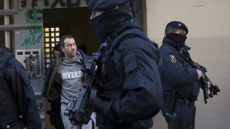 Cinq algériens parmi les personnes arrêtés pour terrorisme à Barcelone