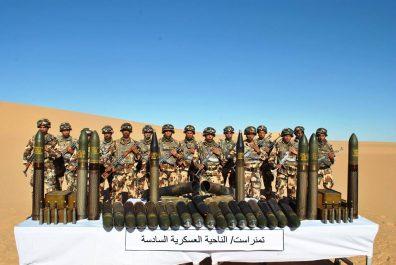 Un autre arsenal intercepté par l'armée à Tamanrasset !