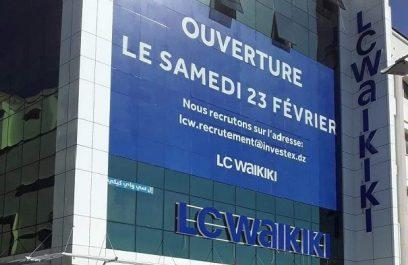 Ouverture d'un nouveau magasin LC WAIKIKI à ALGER
