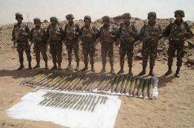 Lutte antiterroriste: deux caches détruites à Bordj Badji Mokhtar et Skikda (MDN)