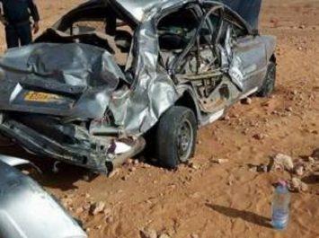 Huit (08) morts dans un accident de circulation à Tanzrouft au sud de Reggan