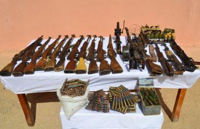 Bande frontalière au sud de Tamanrasset: Un nouvel arsenal découvert par l'ANP