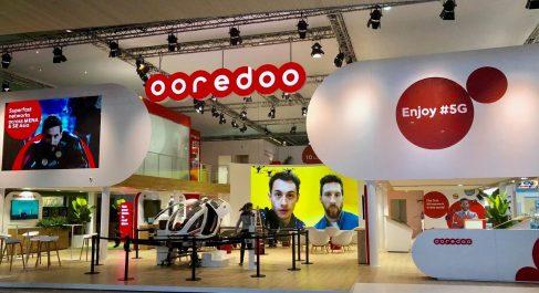 Congrès Mondial du Mobile 2019:  Ooredoo présente le taxi volant 5G dans son pavillon