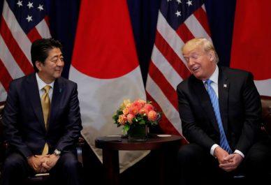 Shinzo Abe a nommé Trump pour le Nobel de la paix à la demande des USA