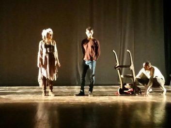 «Une Tempête», pièce de théâtre d'Aimé Césaire, présentée à Alger