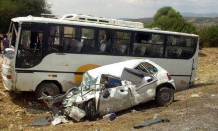 Accidents de la route: 4 morts et 45 blessés durant les dernières 24 heures