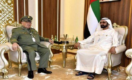 Gaïd Salah poursuit sa visite aux Emirats Arabes Unis