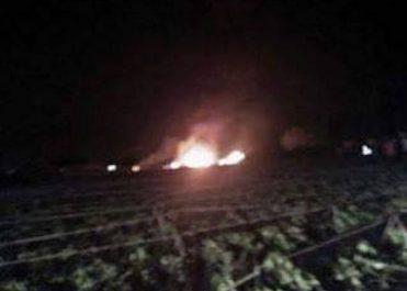 Crash d'un hélicoptère à Tiaret, 2 morts !