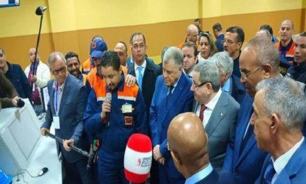 Sonatrach: Inauguration de la raffinerie de Sidi R'cine à Alger