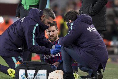 FC Barcelone: des nouvelles de Messi après sa blessure