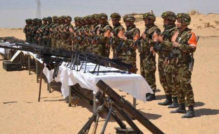 Lutte antiterroriste: une cache contenant des armes et des munitions découverte à Tamanrasset