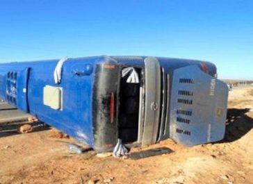 Blida: 24 blessés dans le renversement d'un bus