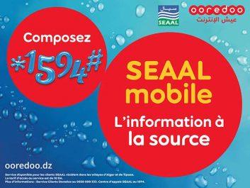 Avec Ooredoo, suivez votre consommation d'eau sur votre mobile grâce au nouveau service exclusif « SEAAL Mobile »