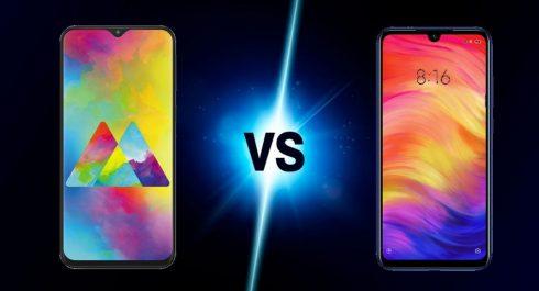 Galaxy M20 vs Redmi Note 7 comparatif : lequel est le meilleur ?