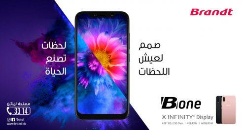 Brandt Algérie lance son nouveau Smartphone B-One, le flagship de la marque