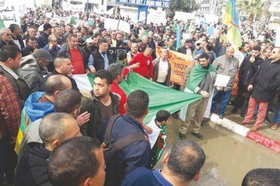 À l'initiative de la coordination de wilaya de Béjaïa du SNAPAP: Des milliers de fonctionnaires ont investi la rue