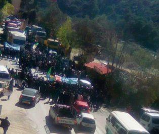 Nouvelle marche contre le pouvoir à Béjaïa ! [Images]