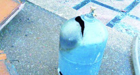Guelma: Incendie et explosion d'une bouteille de gaz dans un hangar à Bouati-Mahmoud