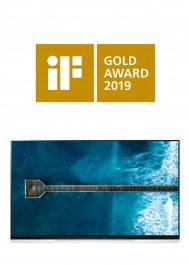 Le téléviseur OLED de LG remporte le prix iF Gold de l'excellence du design