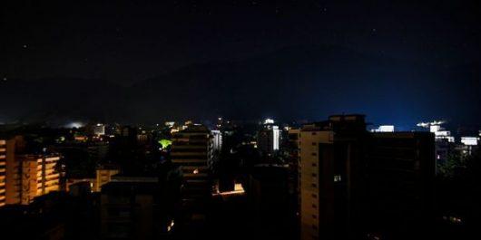 Le Venezuela de nouveau dans le noir !