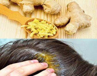 Beauté: Masque de gingembre pour accélérer la pousse des cheveux