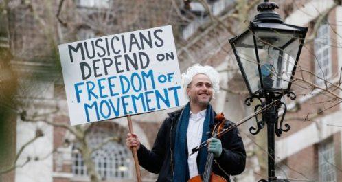 Royaume-Uni : Des musiciens redoutent un Brexit discordant