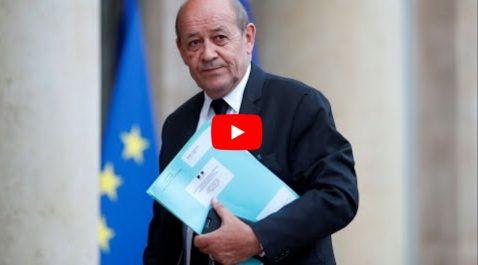 Jean-Yves le Drian salue le «civisme» des manifestations ! [Vidéo]