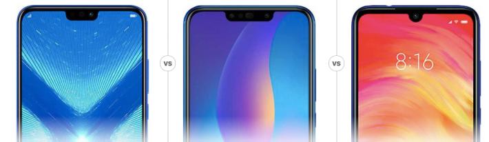 Honor 8X vs Huawei Y9 (2019) vs Redmi Note 7 : Qui est le roi du rapport qualité/prix ?