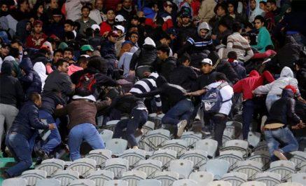 Plus de 50 blessés après un match de foot à Tiaret !