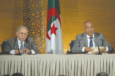 Doutes sur la gouvernance de Bouteflika: Pour qui sous-traitent Bedoui et Lamamra ?