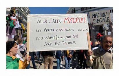 Macron fustigé par les manifestants !