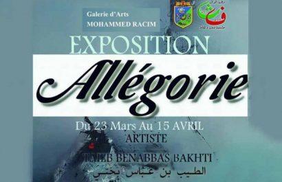 Galerie Mohamed-Racim «Allégorie», nouvelle exposition de Taïeb Benabbas Bakhti