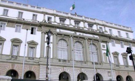 Bensalah reçoit l'ambassadeur de l'Etat de Palestine à Alger