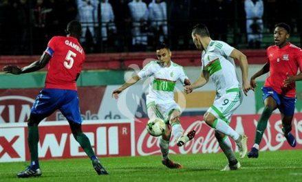 CAN-2019 (Qualifications): l'Algérie et la Gambie se neutralisent 1-1
